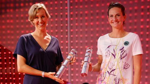 Anna Yona (l.) undMaria Birlem führen erfolgreiche Unternehmen