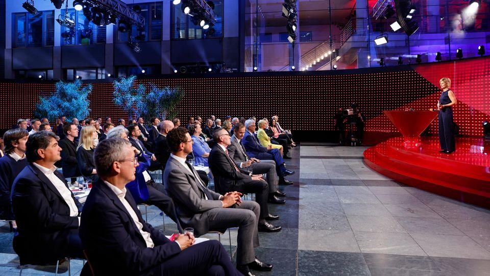 Die Veranstaltung fand mit geladenen Gästen in Berlin statt