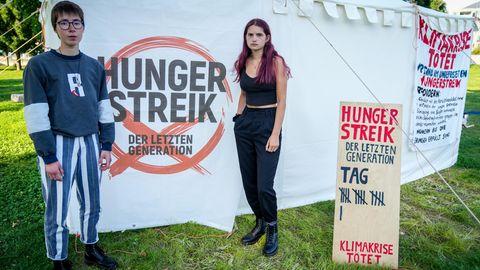 Hungerstreik als Klimaprotest