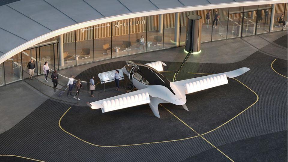 So stellt sich Lilium die Flugtaxi-Zukunft vor