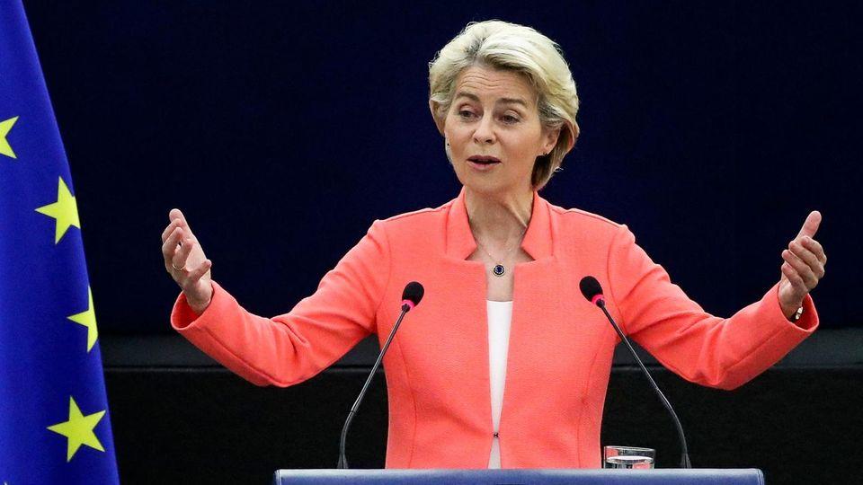 Ursula von der Leyen Rede zur Lage der Union