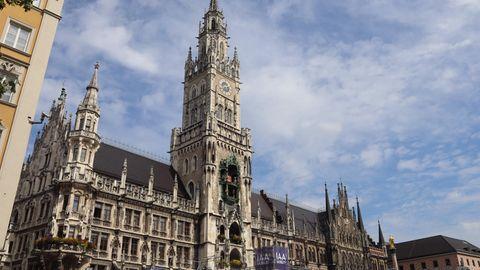 Das Rathaus in München. Der Stadtrat möchte gegen das N-Wort schärfer vorgehen.