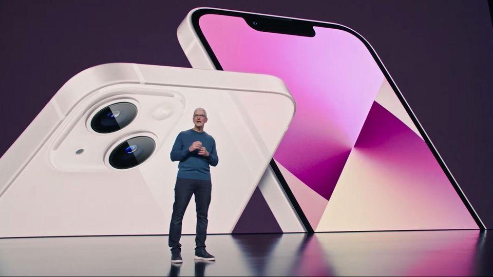 Apple-Chef Tim Cook und sein Team präsentierten auf der Keynote die neuesten Produkte wie das iPhone 13