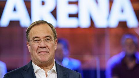 Armin Laschet Wahlarena