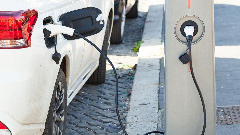 Plug-In-Hybrid beim Aufladen