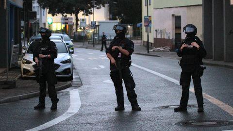 Polizeieinsatz Synagoge Hagen