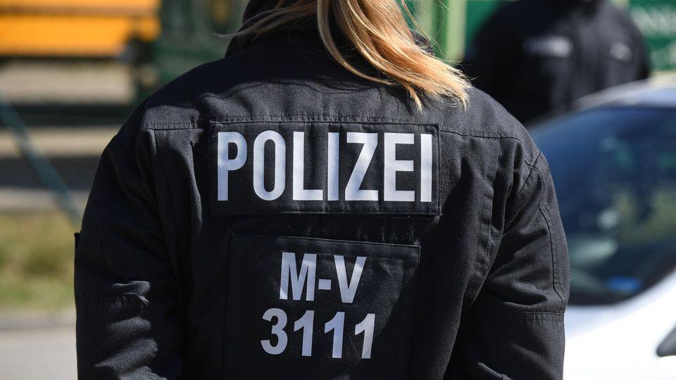Polizistin in Mecklenburg-Vorpommern