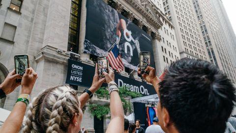 Am Mittwoch ging die Schuhmarke On in New York an die Börse