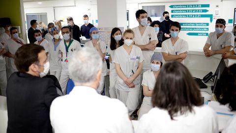 Pflegekräfte Frankreich
