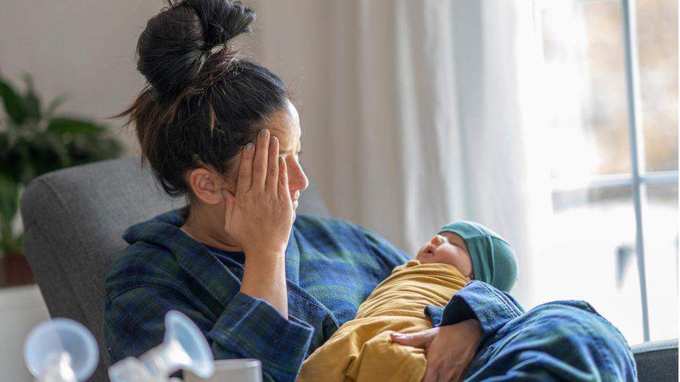 Lähmende Traurigkeit statt Babyglück