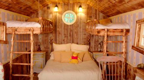 Wohnen wie Pu der Bär: Airbnb macht Kindheitsträume wahr