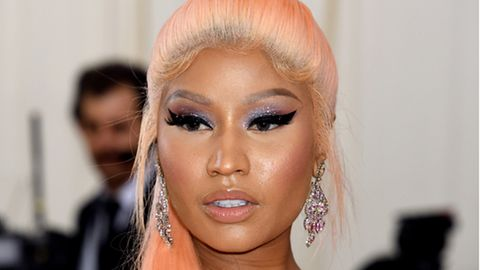 Rapperin Nicki Minaj bei der Met-Gala 2019 im Metropolitan Museum of Art