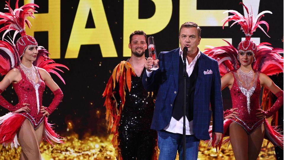 Hape Kerkeling wurde mit dem Ehrenpreis ausgezeichnet