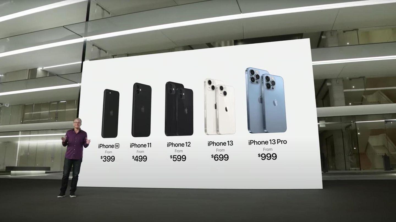 Bei der Vorstellung des iPhone 13 kündigte Apple auch an, die Preise des Vorgängers zu behalten