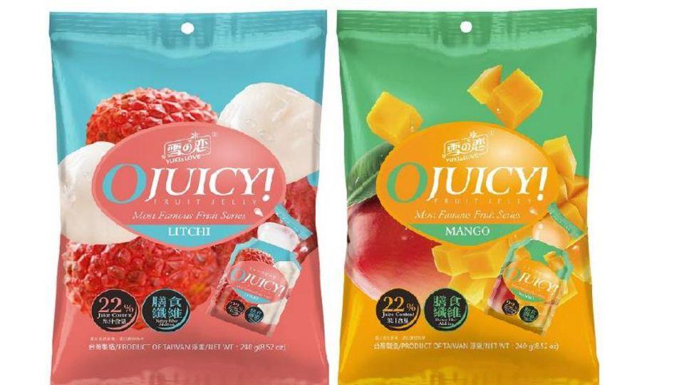 """""""Yuki&Love""""Gelee-Süßwaren"""