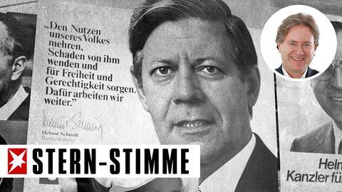 Wahlplakat von Helmut Schmidt 1976