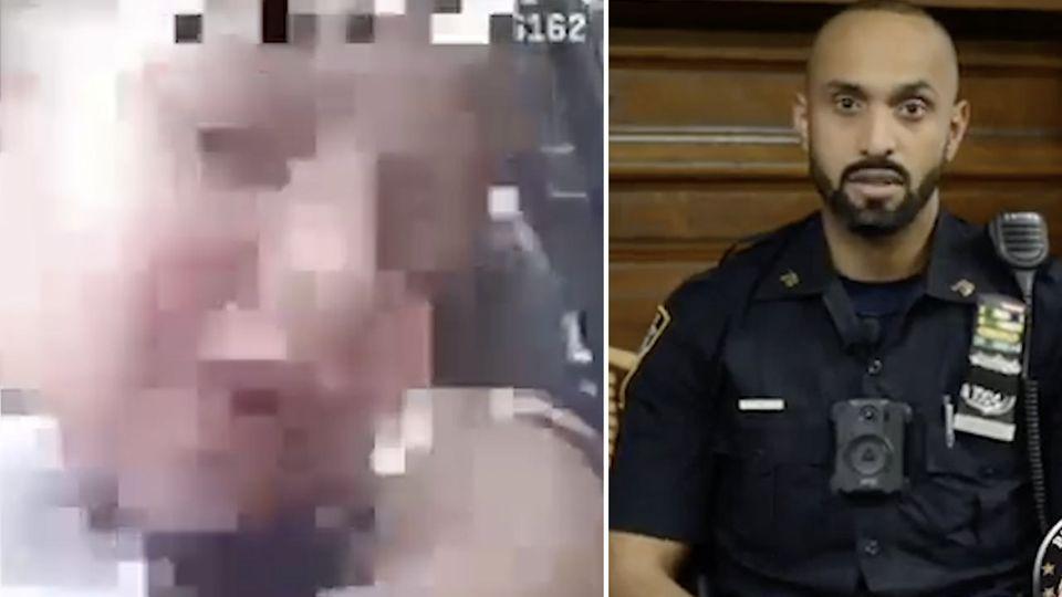 Polizist wird zum Einsatz gerufen - Danach feiert man ihn als Helden