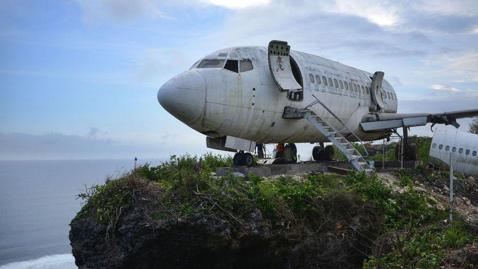 Boeing 737 auf Bali