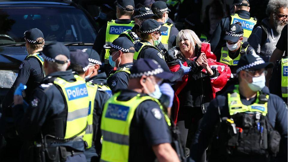 Proteste Melbourne