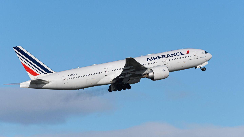 Eine Boeing 777-300 von Air France
