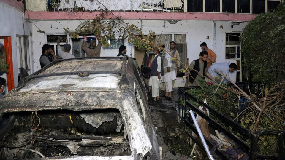 Drohnenangriff Kabul