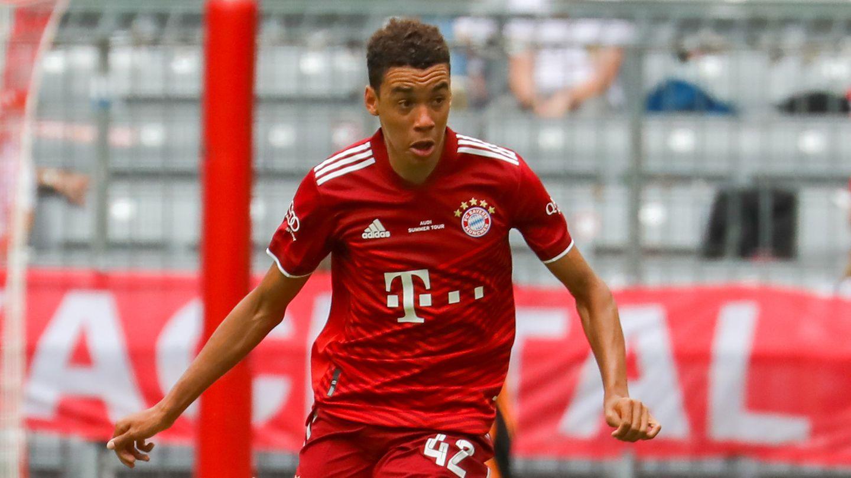Jamal Musiala FC Bayern 2021/22