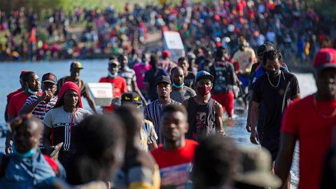 Migranten aus Haiti