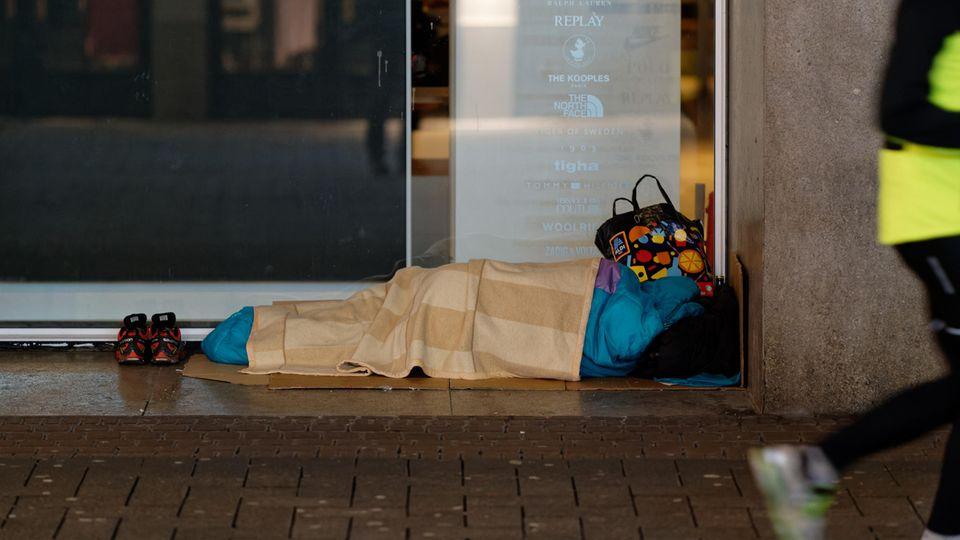 Obdachloser Hamburg
