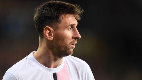 Lionel Messi PSG 2021