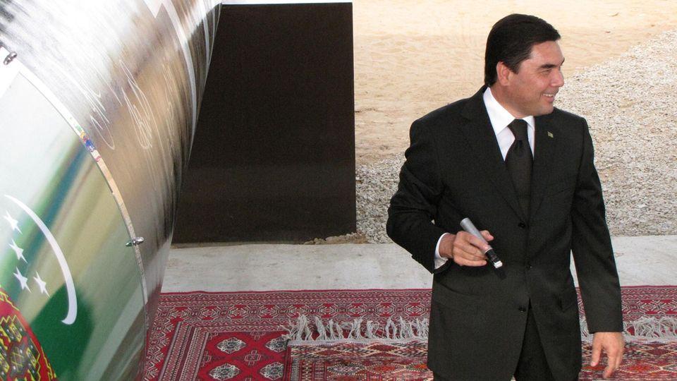 Der Präsident von Turkmenistan,Gurbanguly Berdymukhammedov
