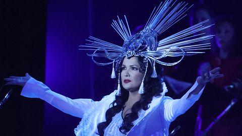 Vip-News:  Anna Netrebko bei Ihrem Konzert am Samstag im Kreml