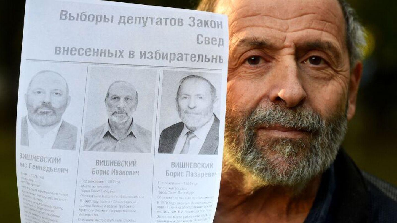 """Duma-Wahl in Russland: Boris Wishnewskij,Abgeordneter der liberalen """"Jabloko""""-Partei"""