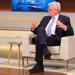 Moderatorin Anne Will hatte CDU-Mann Volker Bouffier nicht unter Kontrolle