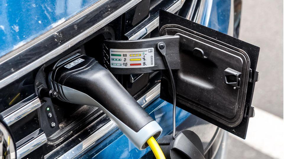 E-Auto Ladestelle