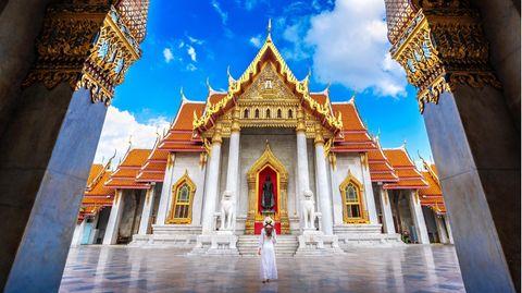 Touristenattraktion in Bangkok:Wat Benchamabophit