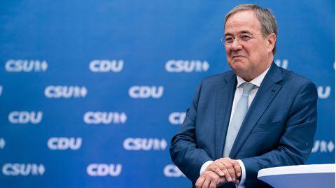Armin Laschet (CDU), Kanzlerkandidat der Union und Ministerpräsident von Nordrhein-Westfalen