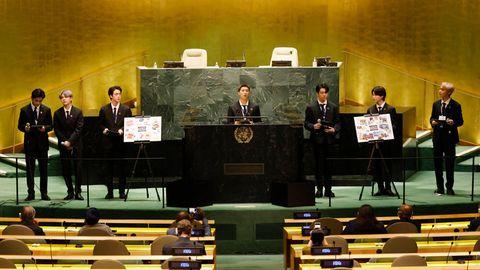 "K-Pop-Band ""BTS"" bei UN-Generalversammlung"