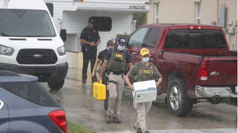 Ermittler und Beamte durchsuchen das Haus der Eltern von Gabby Petitos Freund in Florida