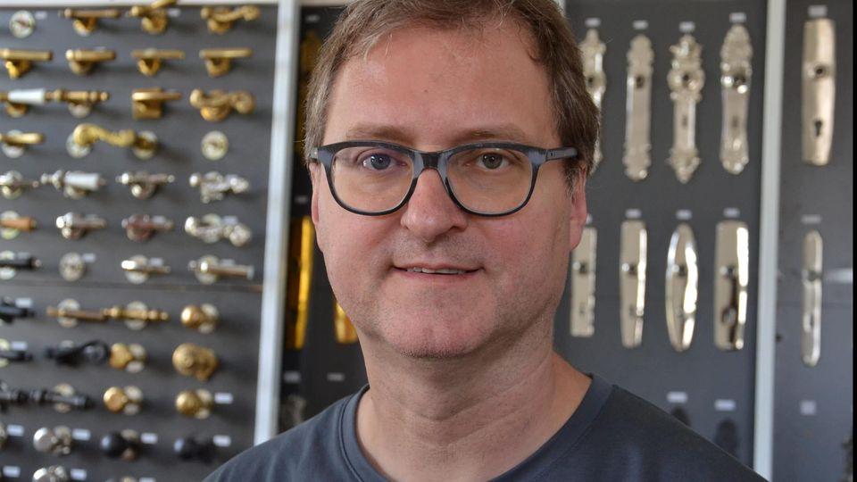 Volker Eloesser, Softwareproduzent und Gründer eines Türgriffherstellers