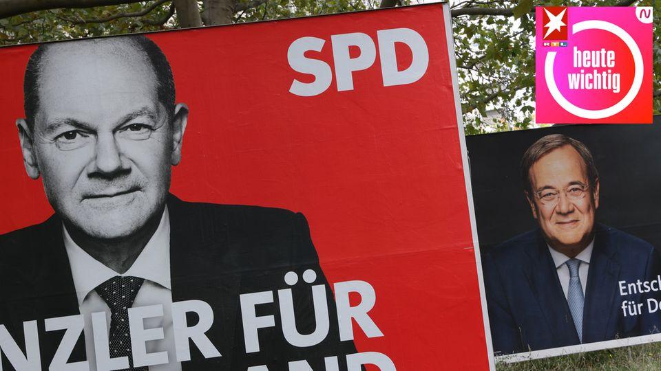 Aus klassische Wahlwerbung verstehen sich SPD und die Union besser