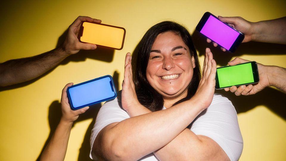 Luise Gonca ist Betroffene von Hass im Netz