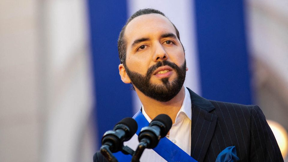 Nayib Bukele ist der Präsident von El Salvador
