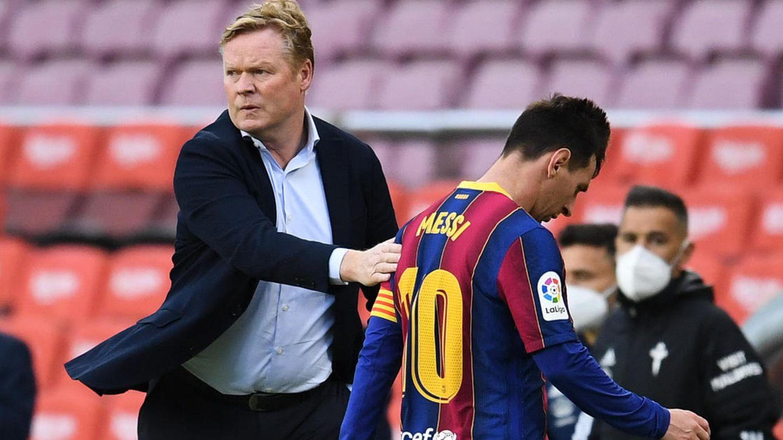 Barcelona-Trainer Ronald Koeman hat Anekdoten über Messi erzählt