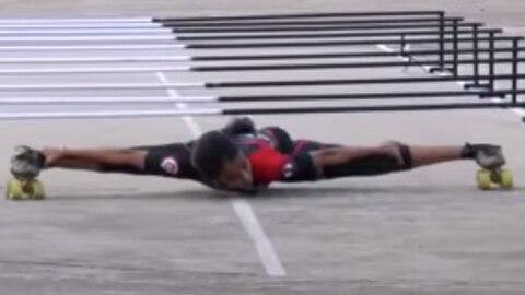 Weltrekord: 17-Jährige bricht Rekorde im Limbo-Skate