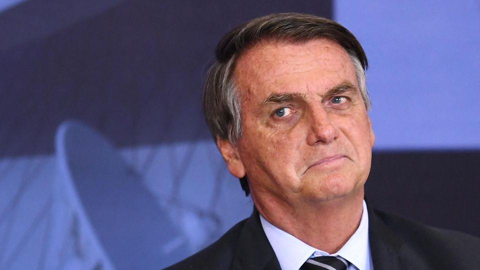 BrasiliensPräsident Jair Bolsonaro
