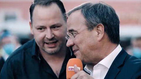 Armin Laschet und der Querdenker: Szene ausdem CDU-Wahlspot