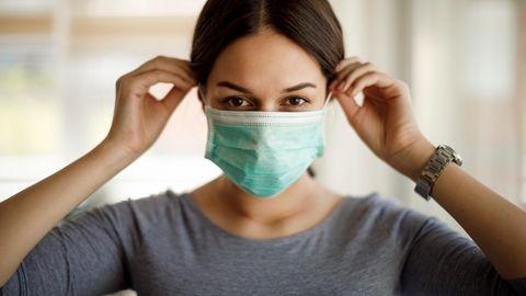 Coronavirus Maske Schutz