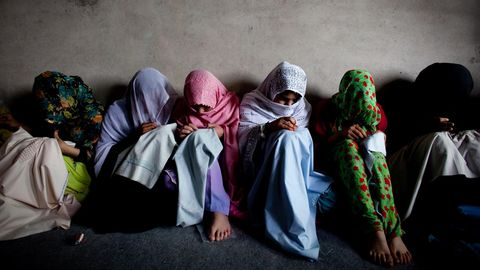 Junge Frauen in Kandahar, Afghanistan
