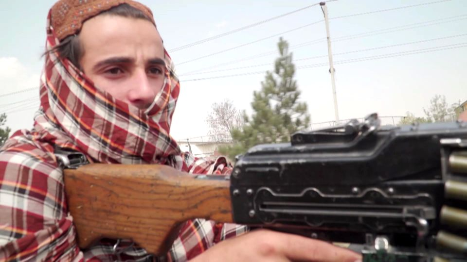 Ein Taliban-Kämpfer in Afghanistan