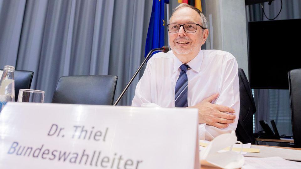 Seiner Behörde galt der Angriff: Bundeswahlleiter Georg Thiel